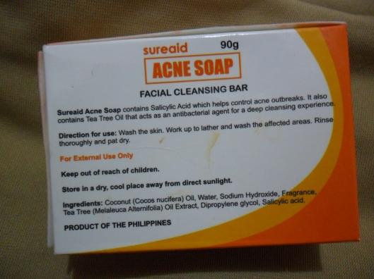 sureaid acne soap (5)