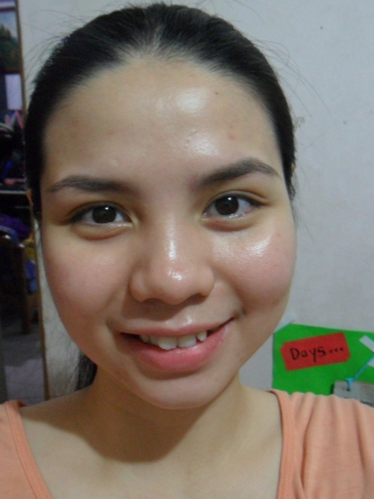 day12: before washing the face (with moisturizer)
