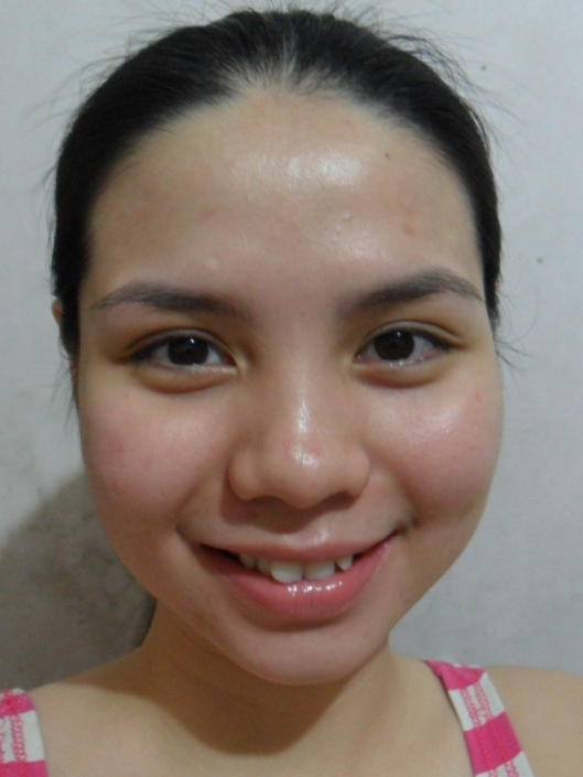 day12: after washing the face (with moisturizer)